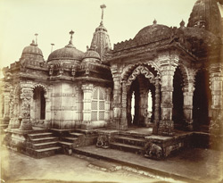 Unidentified Jain temple, probably in the Vimalavasi Tuk, Satrunjaya